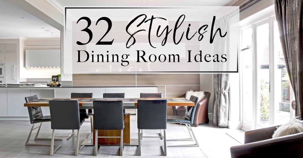 Attractive 32 Stylish Dining Room Decor Ideas To Impress Your Guests   The LuxPad