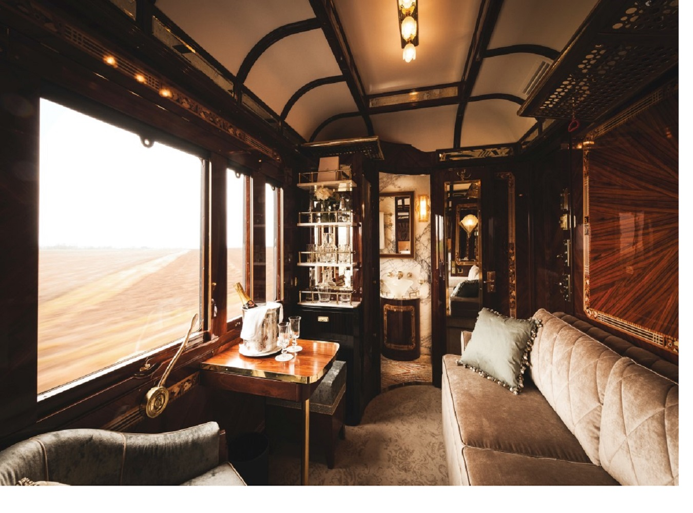 New Grand Suites On Board The Venice Simplon Orient Express
