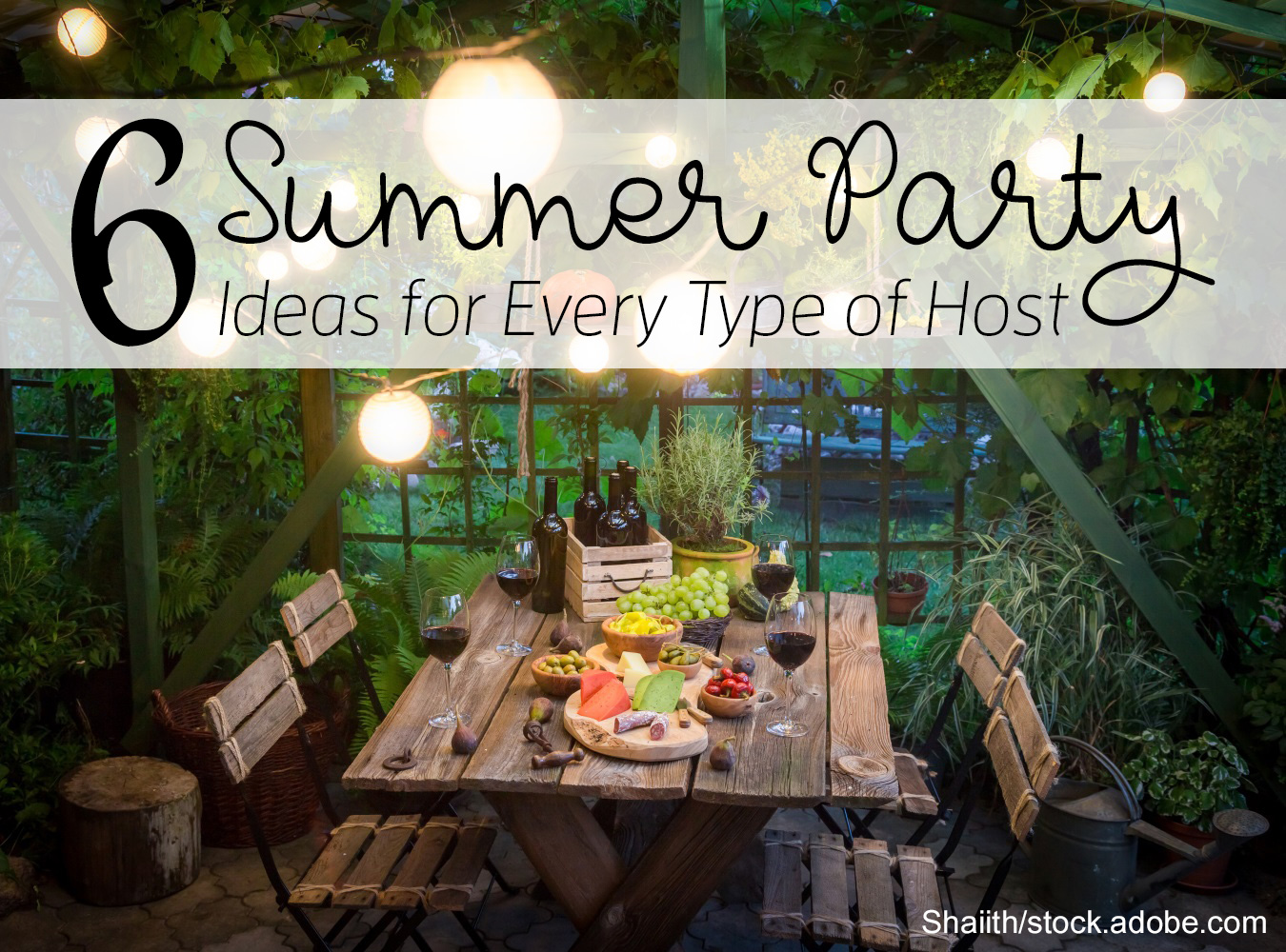 Host a Great Garden Party